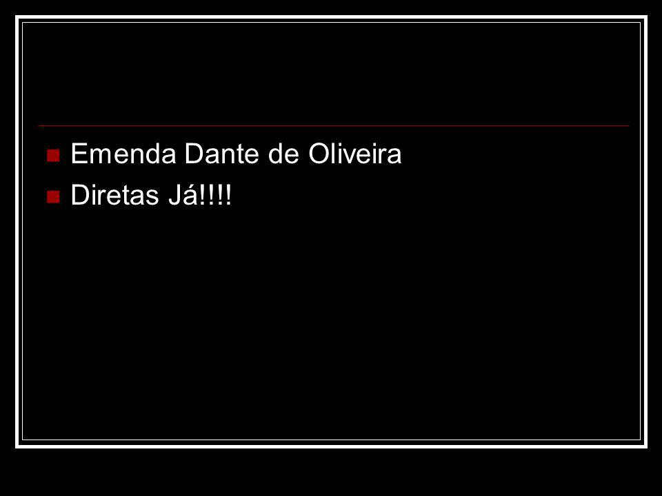 Emenda Dante de Oliveira