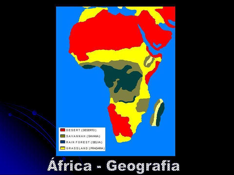 África - Geografia