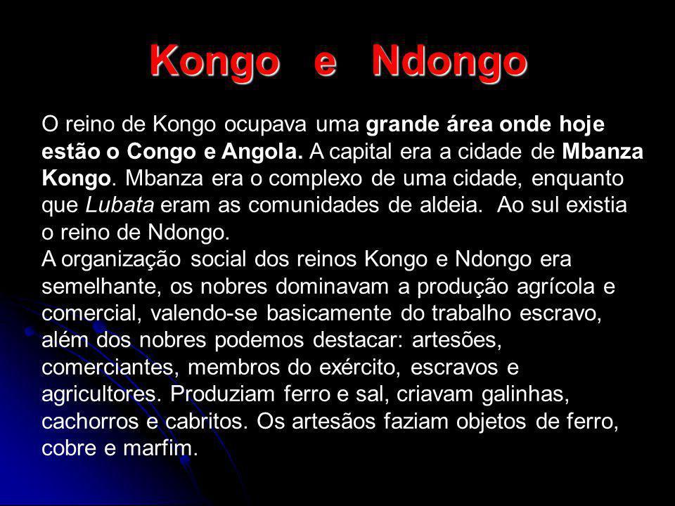 Kongo e Ndongo
