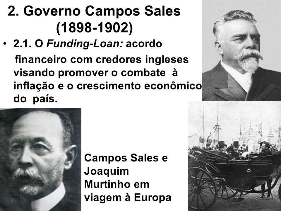 2. Governo Campos Sales (1898-1902)