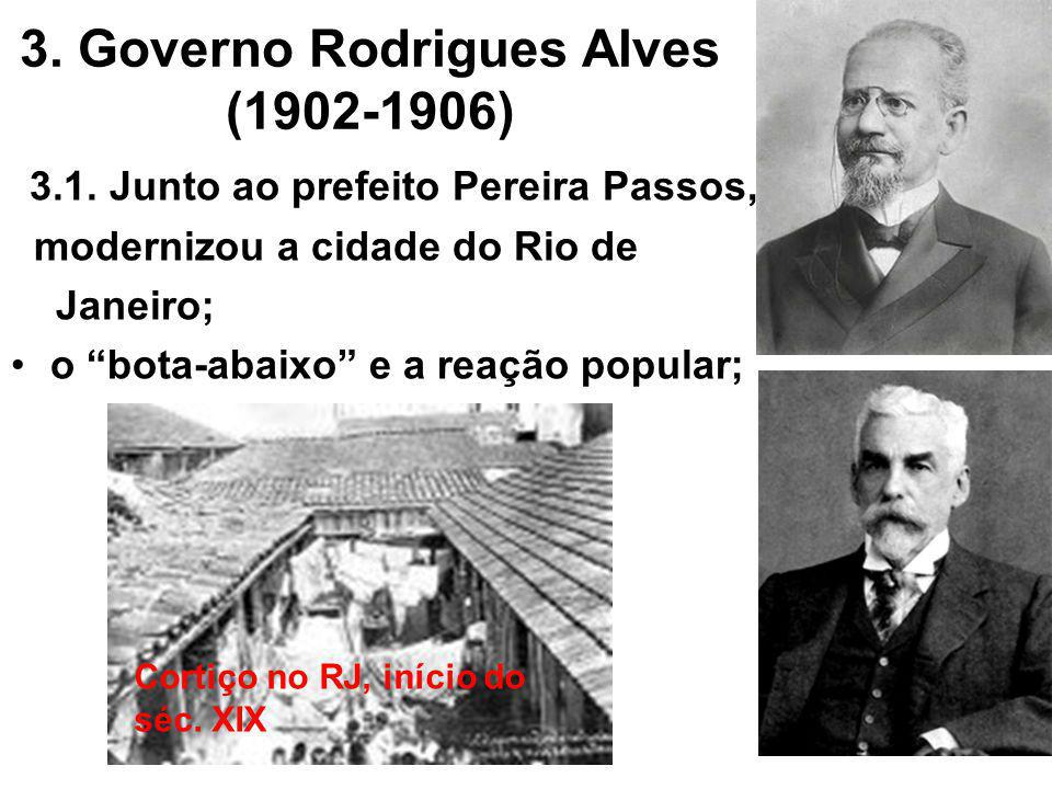 3. Governo Rodrigues Alves (1902-1906)