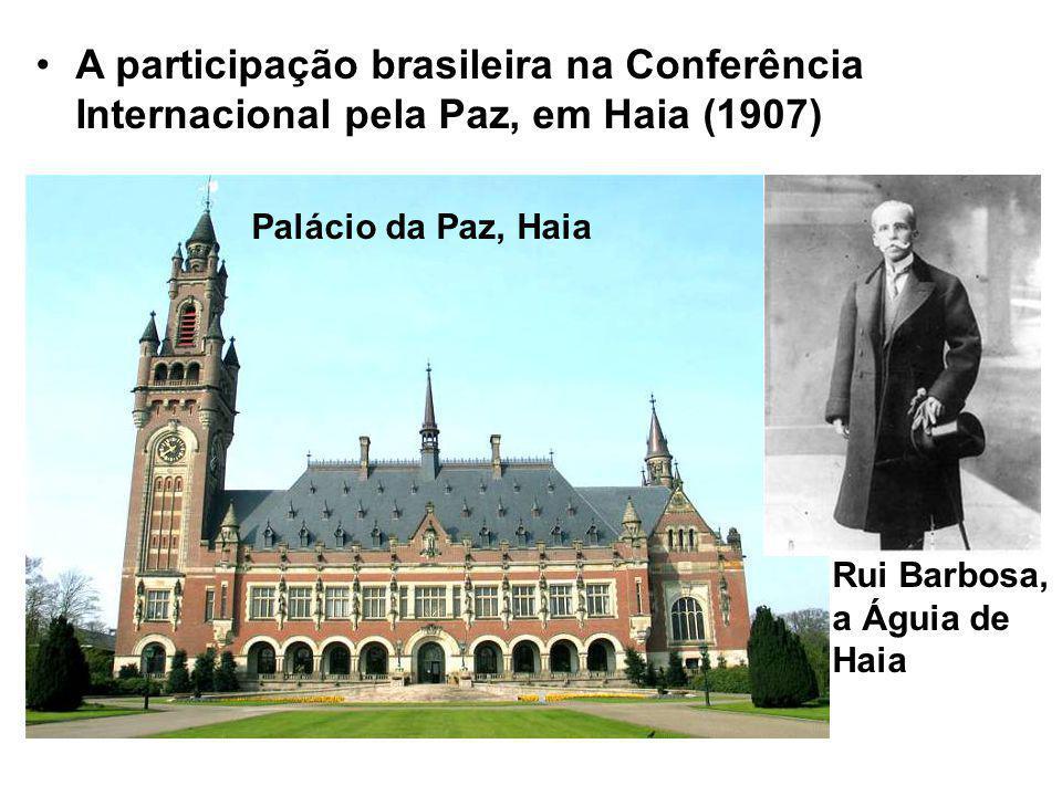 A participação brasileira na Conferência Internacional pela Paz, em Haia (1907)
