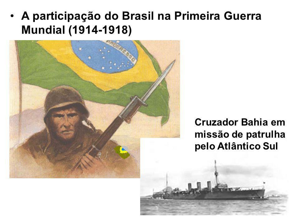 A participação do Brasil na Primeira Guerra Mundial (1914-1918)