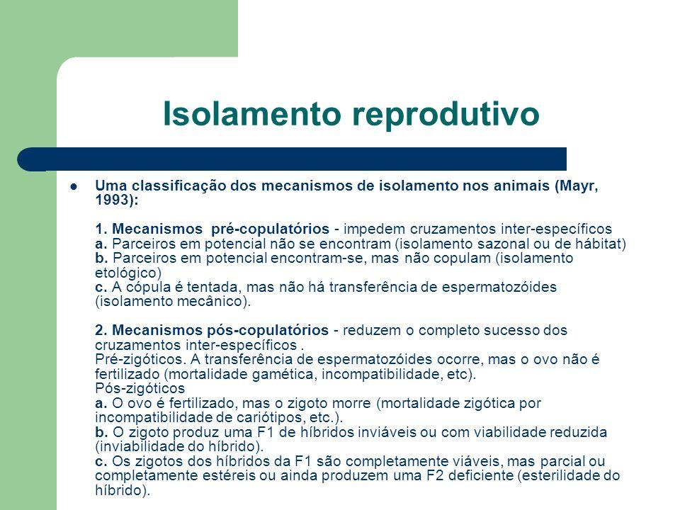 Isolamento reprodutivo