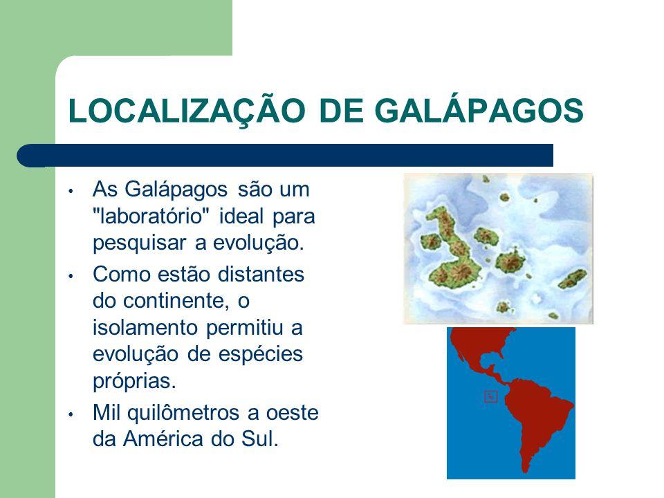 LOCALIZAÇÃO DE GALÁPAGOS