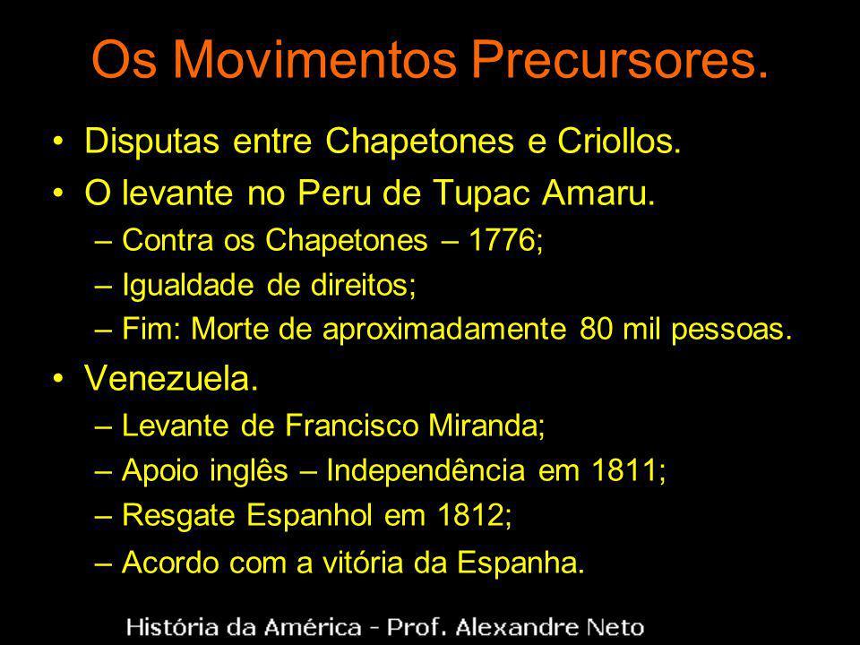 Os Movimentos Precursores.