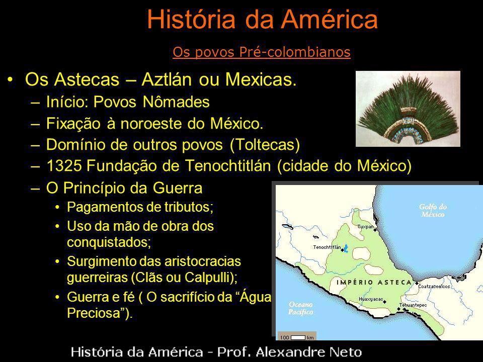 Os povos Pré-colombianos