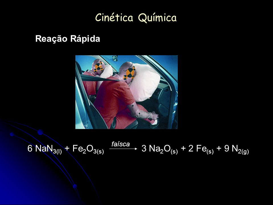 Cinética Química Reação Rápida