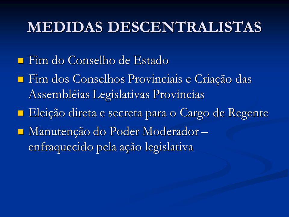 MEDIDAS DESCENTRALISTAS