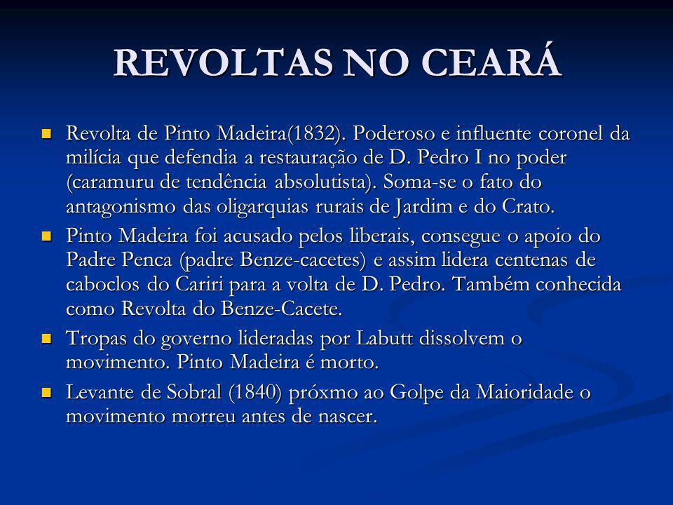 REVOLTAS NO CEARÁ