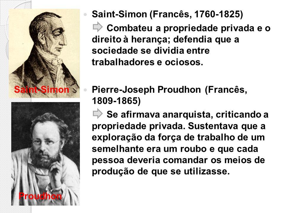 Saint-Simon (Francês, 1760-1825)