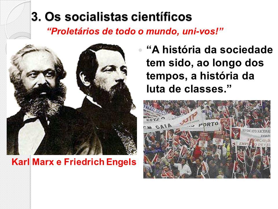 3. Os socialistas científicos