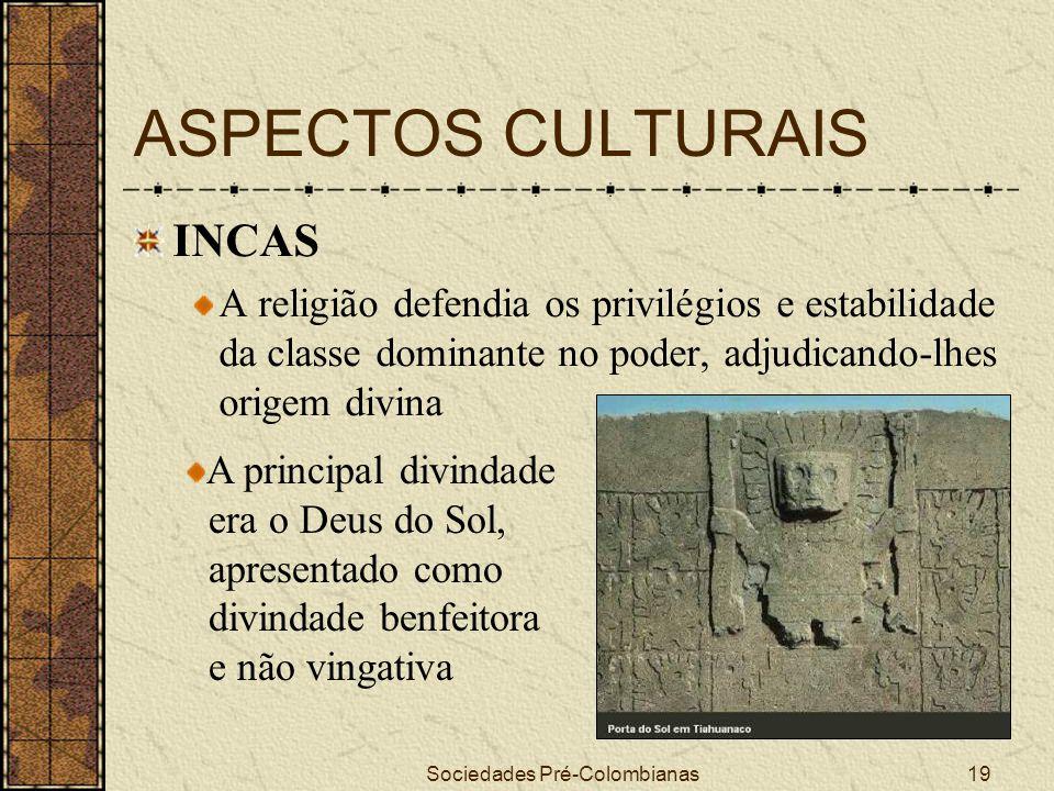 Sociedades Pré-Colombianas