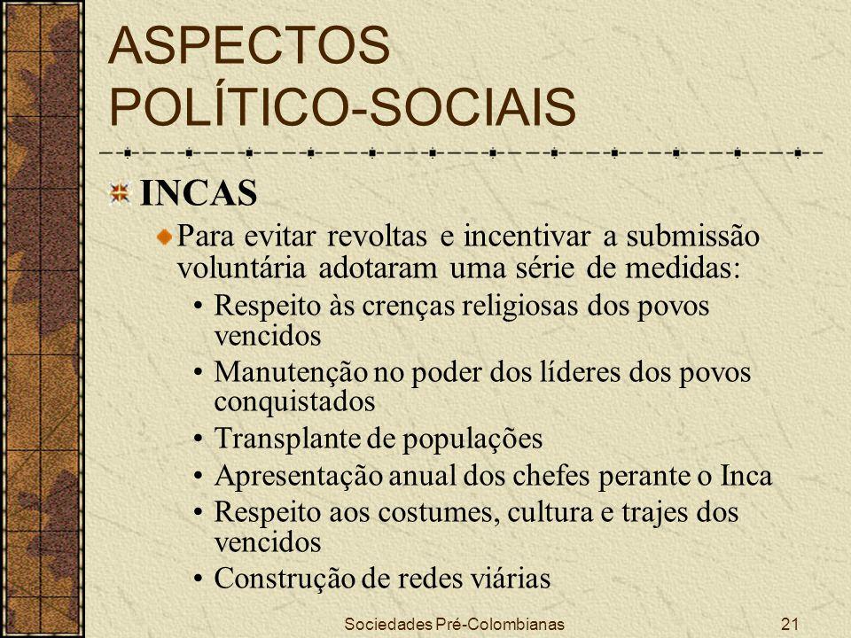 ASPECTOS POLÍTICO-SOCIAIS