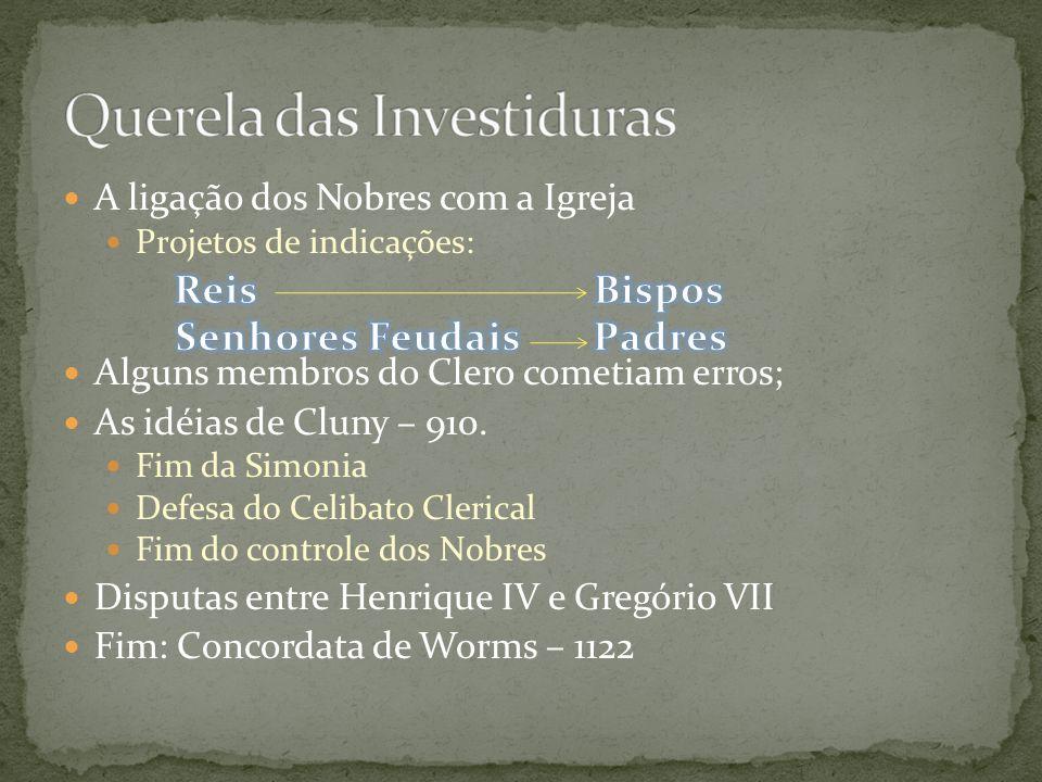 Reis Bispos Senhores Feudais Padres