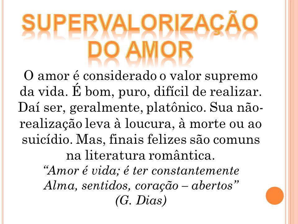 Supervalorização do amor