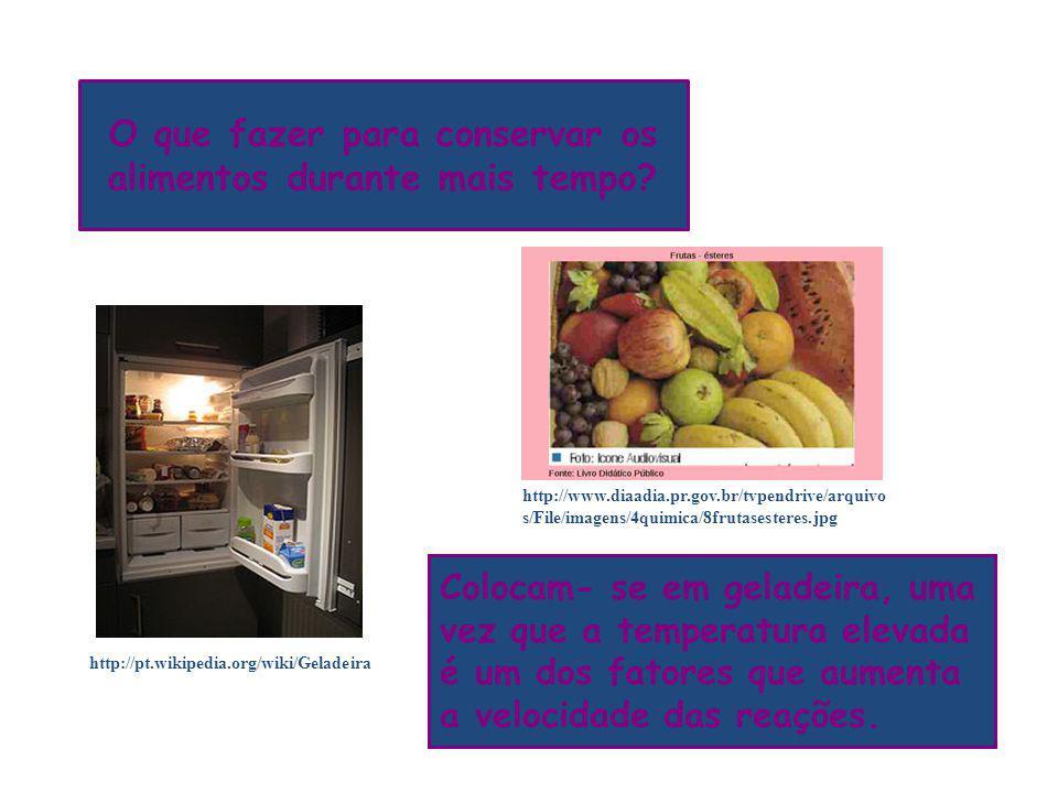 O que fazer para conservar os alimentos durante mais tempo