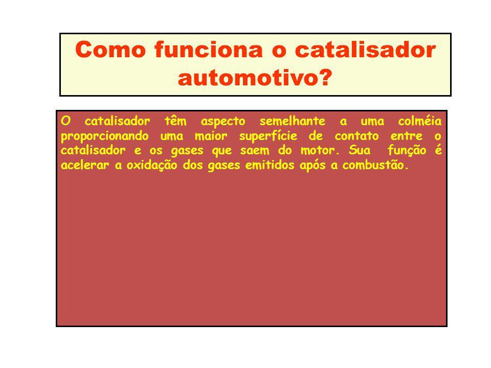 Como funciona o catalisador automotivo
