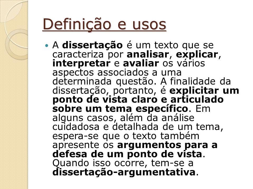 Definição e usos