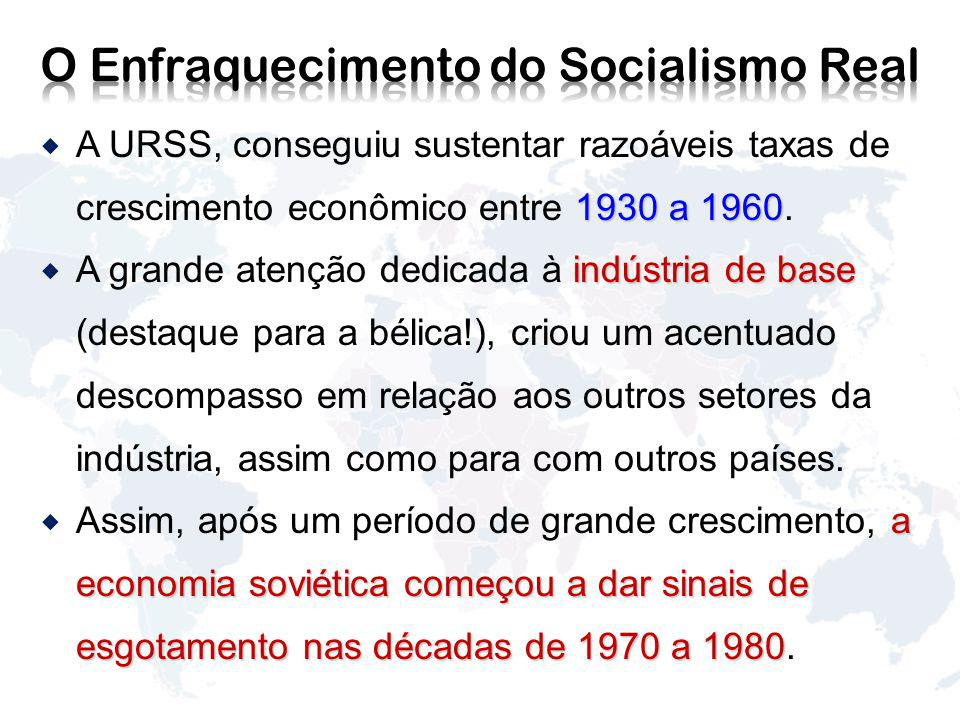 O Enfraquecimento do Socialismo Real