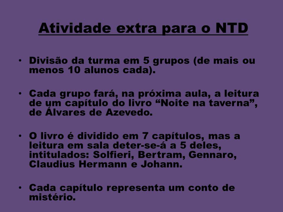 Atividade extra para o NTD