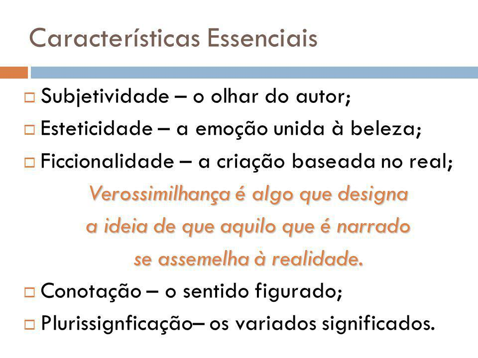 Características Essenciais