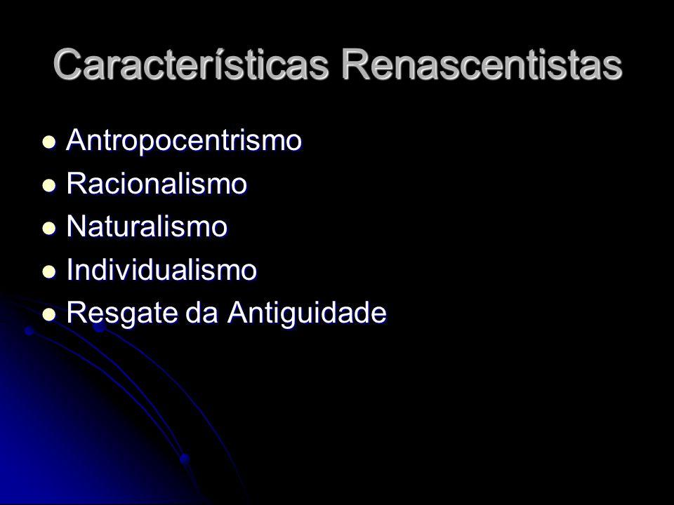 Características Renascentistas