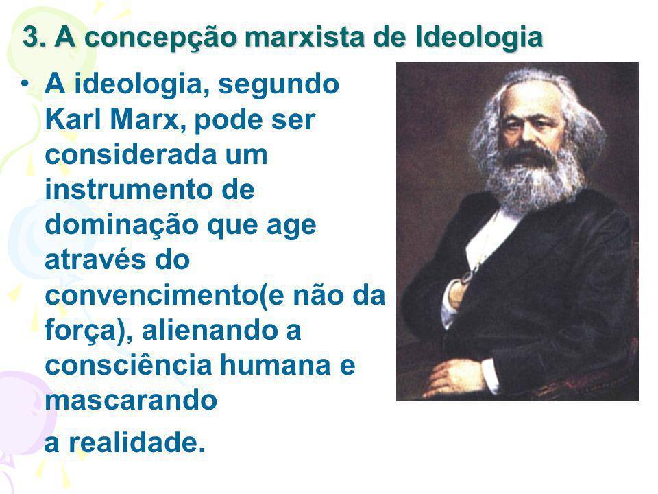 3. A concepção marxista de Ideologia