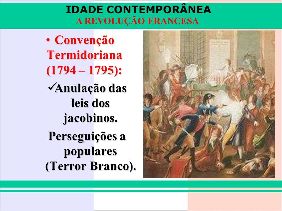 Convenção Termidoriana (1794 – 1795):