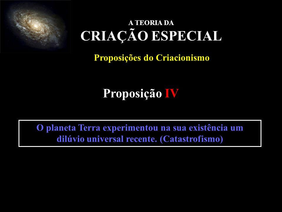 Proposições do Criacionismo