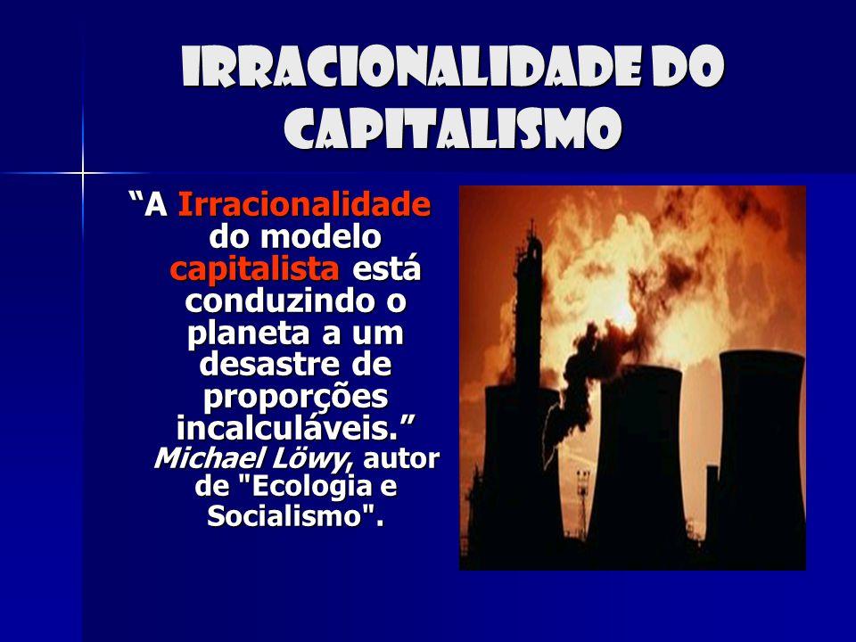 Irracionalidade do capitalismo
