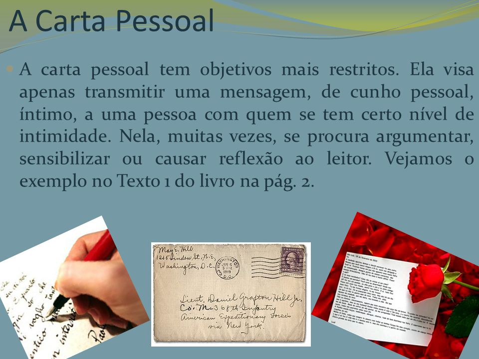 A Carta Pessoal