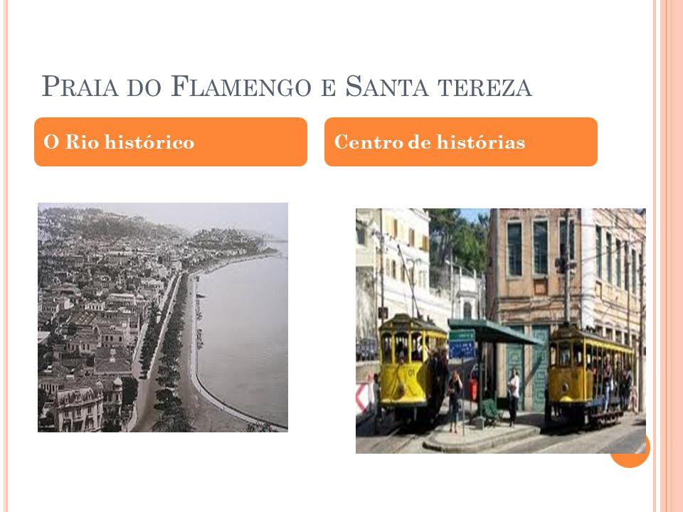Praia do Flamengo e Santa tereza