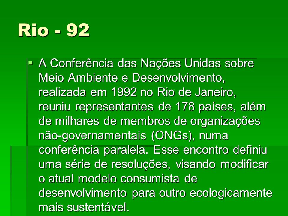 Rio - 92