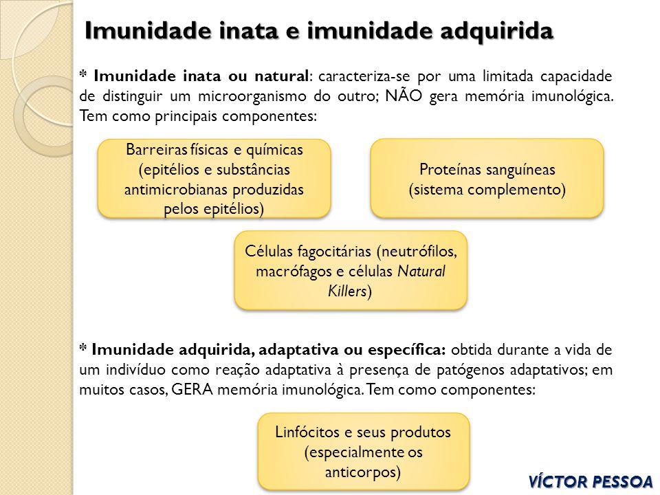 Imunidade inata e imunidade adquirida