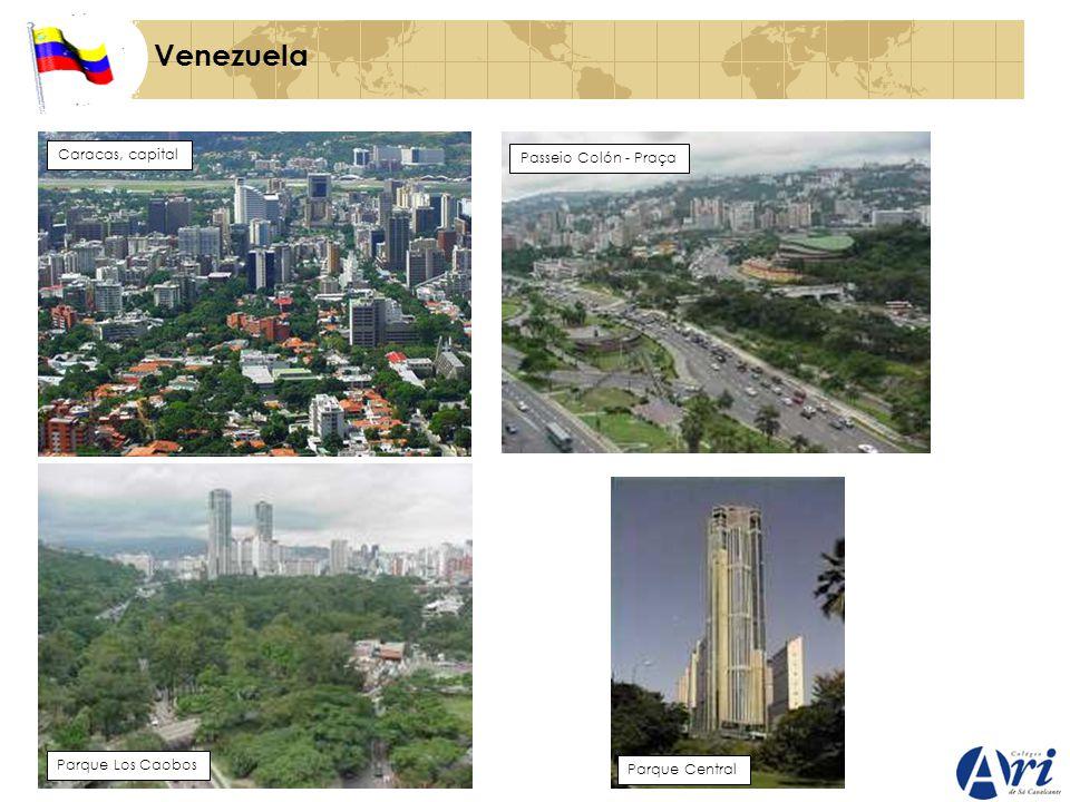 Venezuela Caracas, capital Passeio Colón - Praça Parque Los Caobos