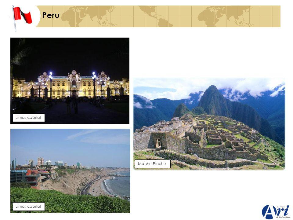 Peru Lima, capital Machu-Picchu