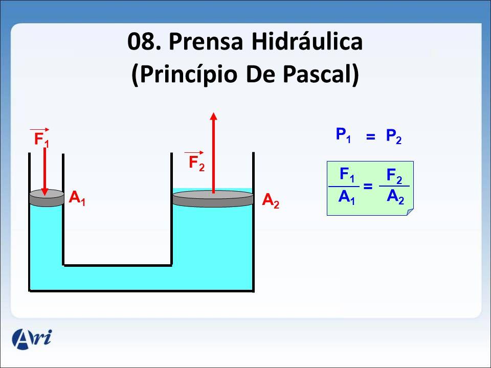 08. Prensa Hidráulica (Princípio De Pascal)