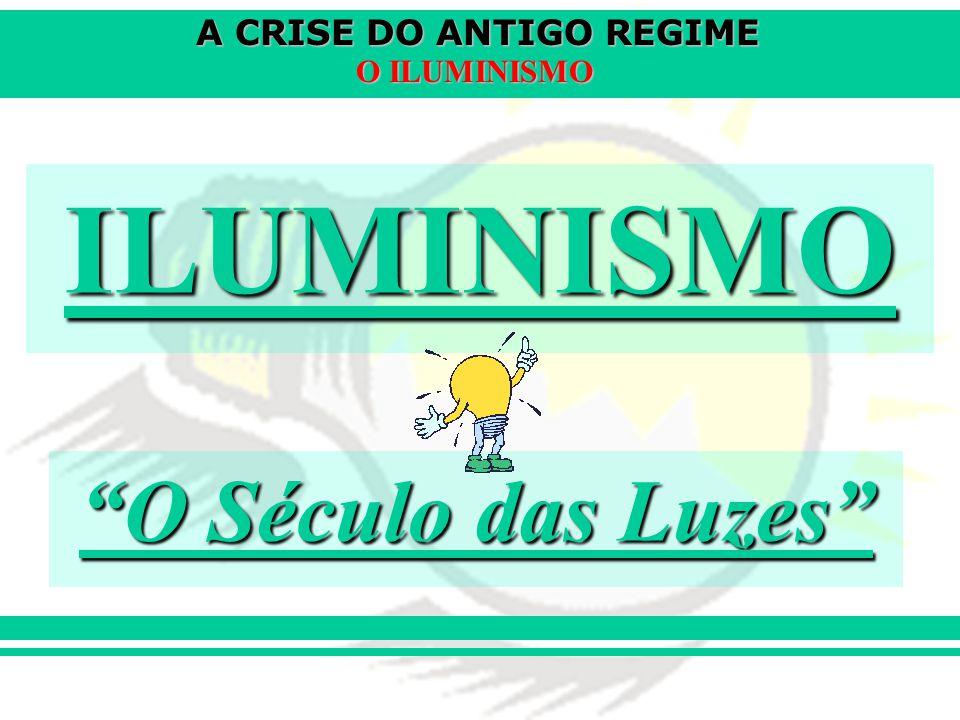 ILUMINISMO O Século das Luzes