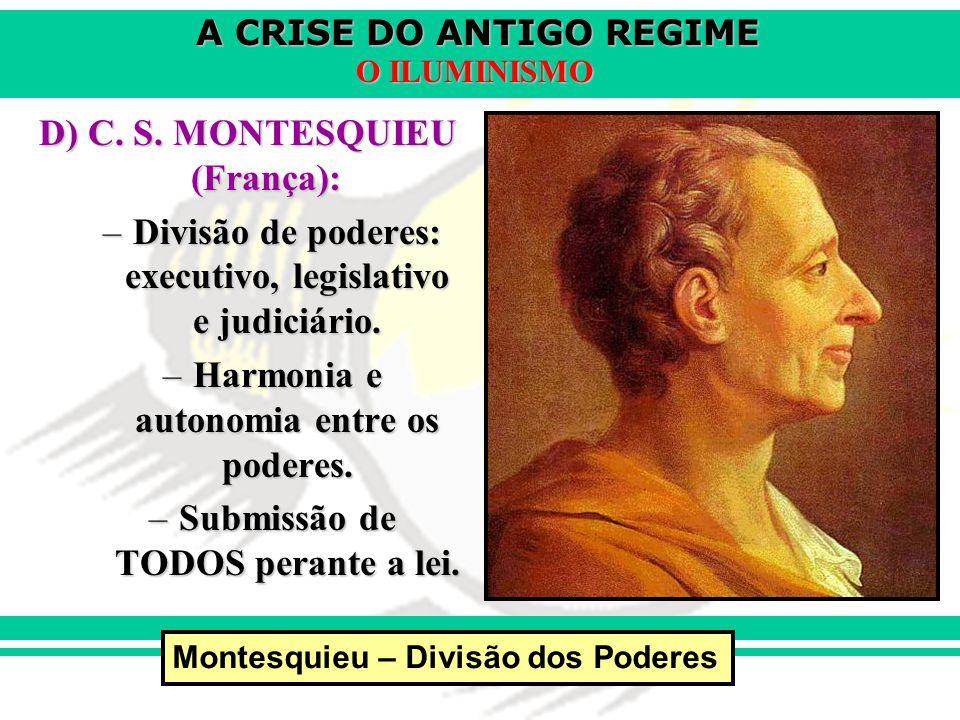 D) C. S. MONTESQUIEU (França):