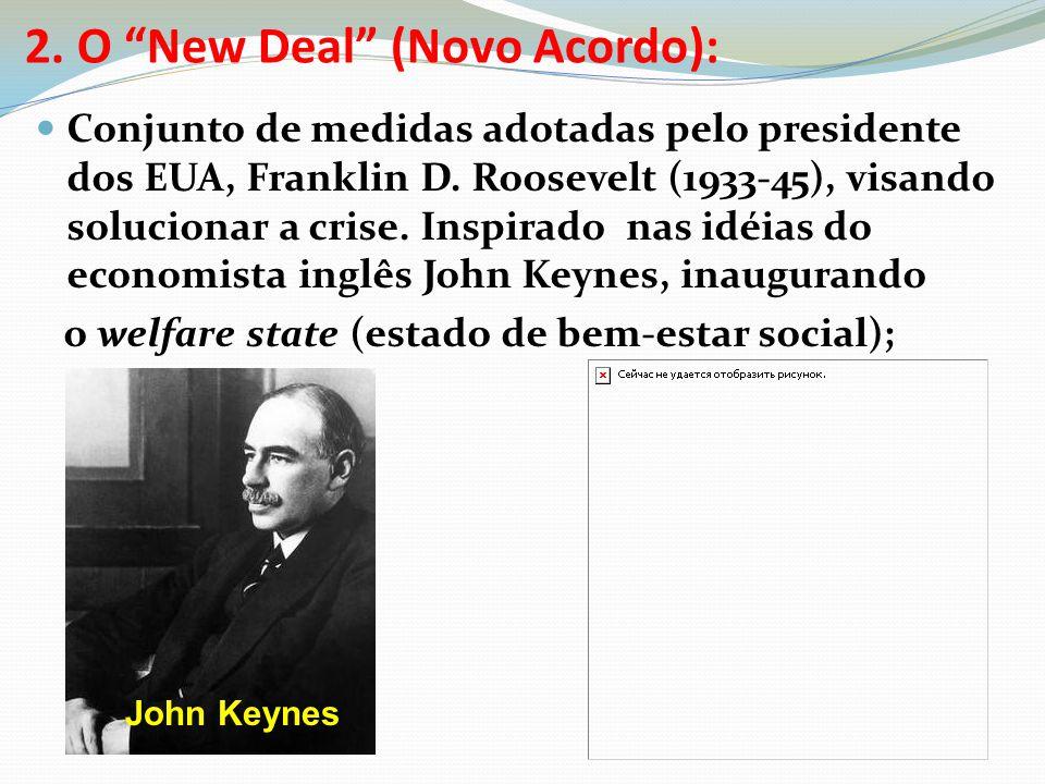 2. O New Deal (Novo Acordo):