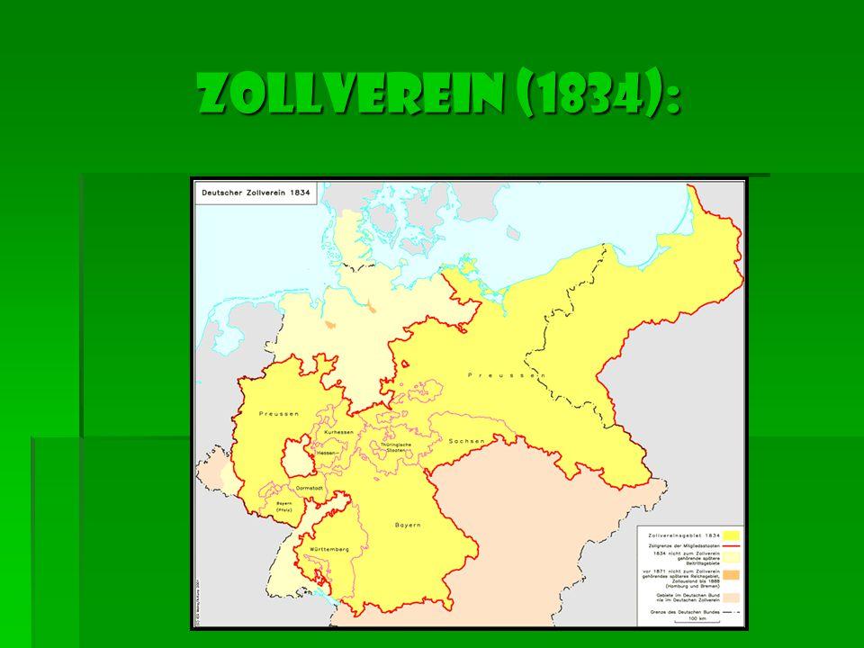 ZOLLVEREIN (1834):