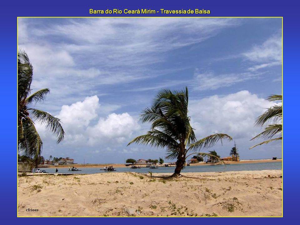 Barra do Rio Ceará Mirim - Travessia de Balsa