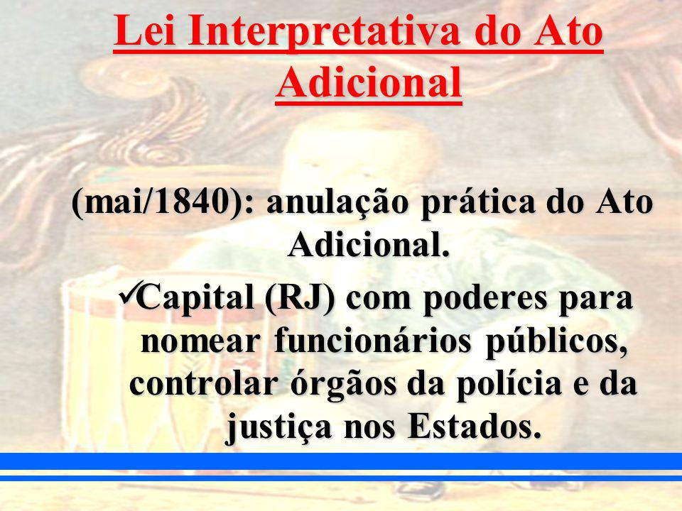Lei Interpretativa do Ato Adicional