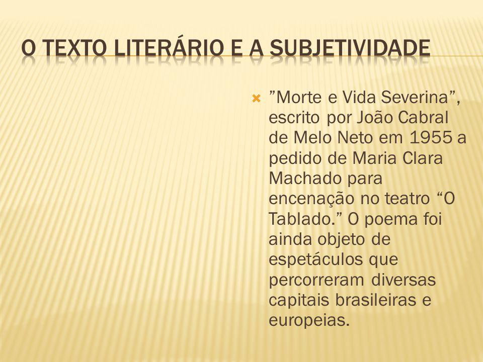 O texto literário e a subjetividade