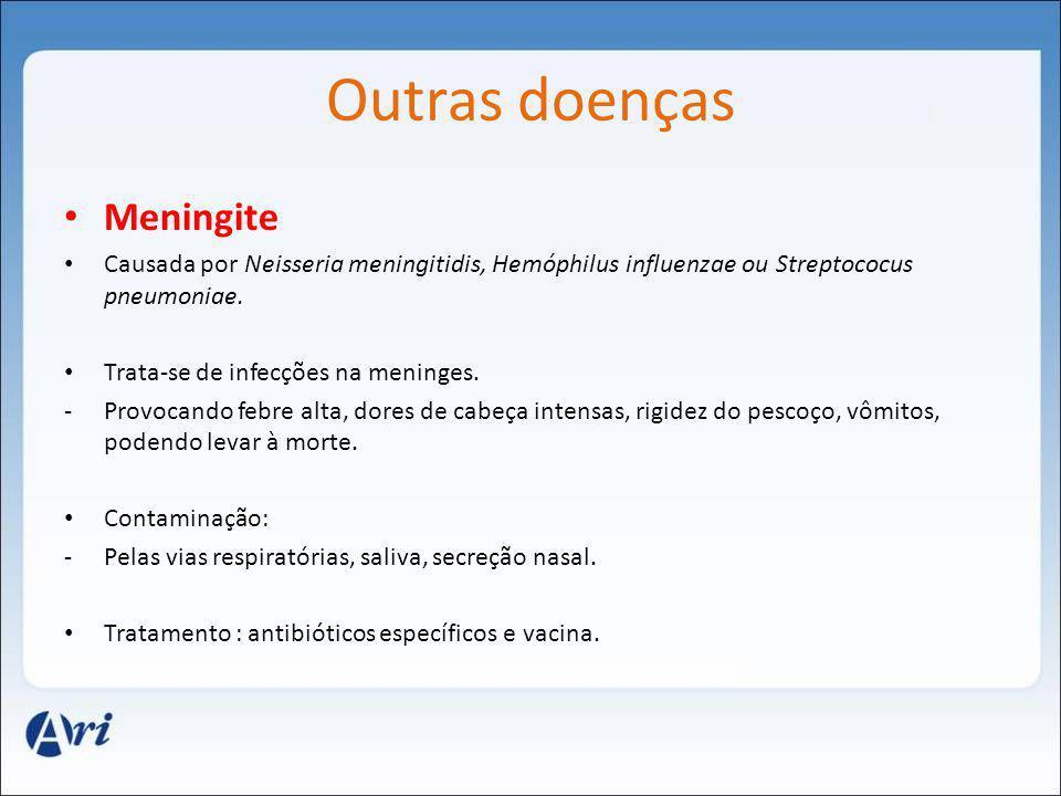 Outras doenças Meningite