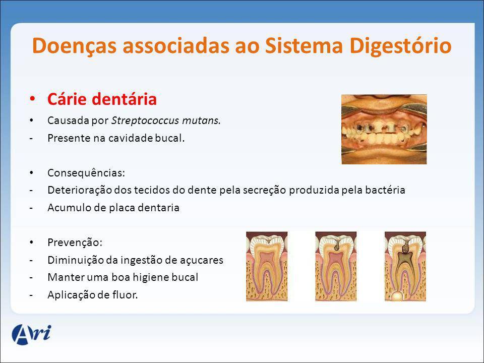 Doenças associadas ao Sistema Digestório