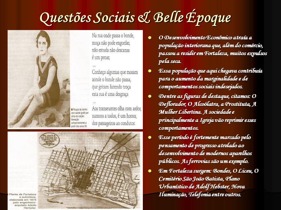 Questões Sociais & Belle Époque