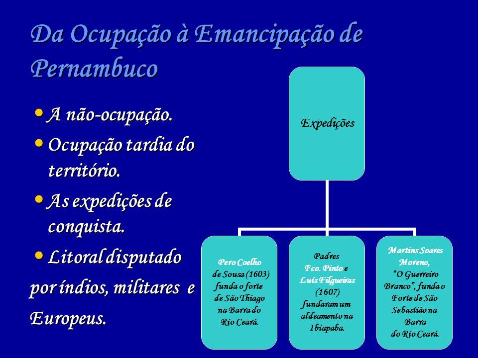 Da Ocupação à Emancipação de Pernambuco