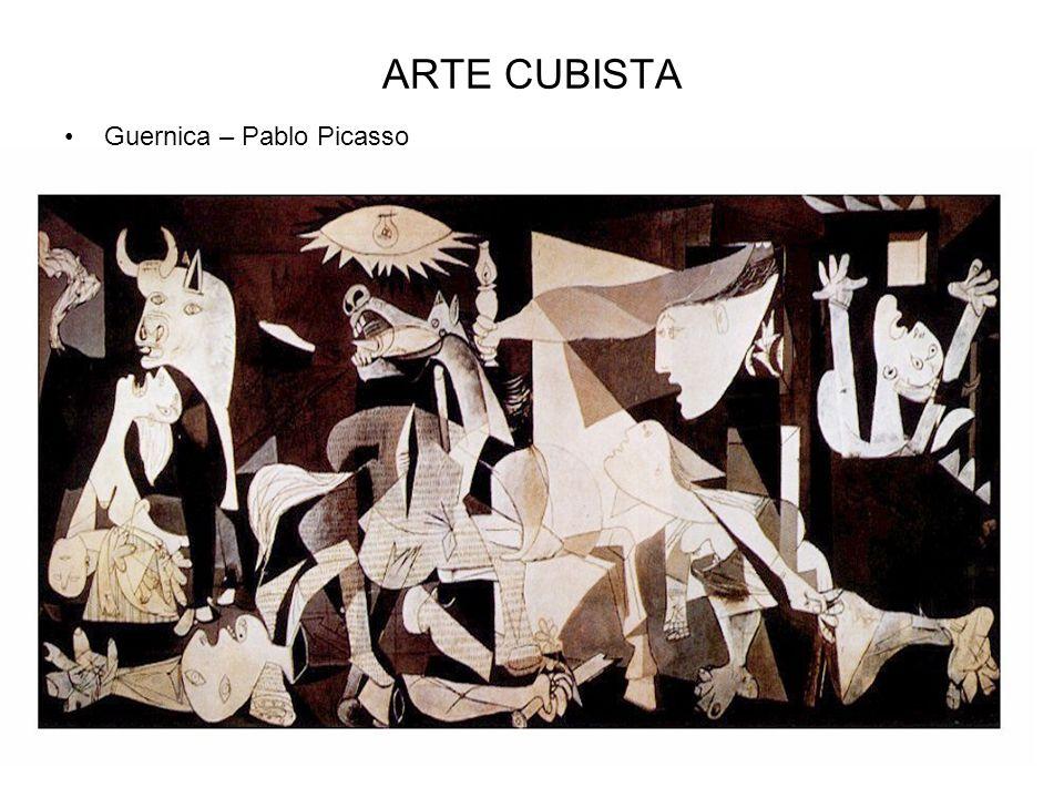ARTE CUBISTA Guernica – Pablo Picasso